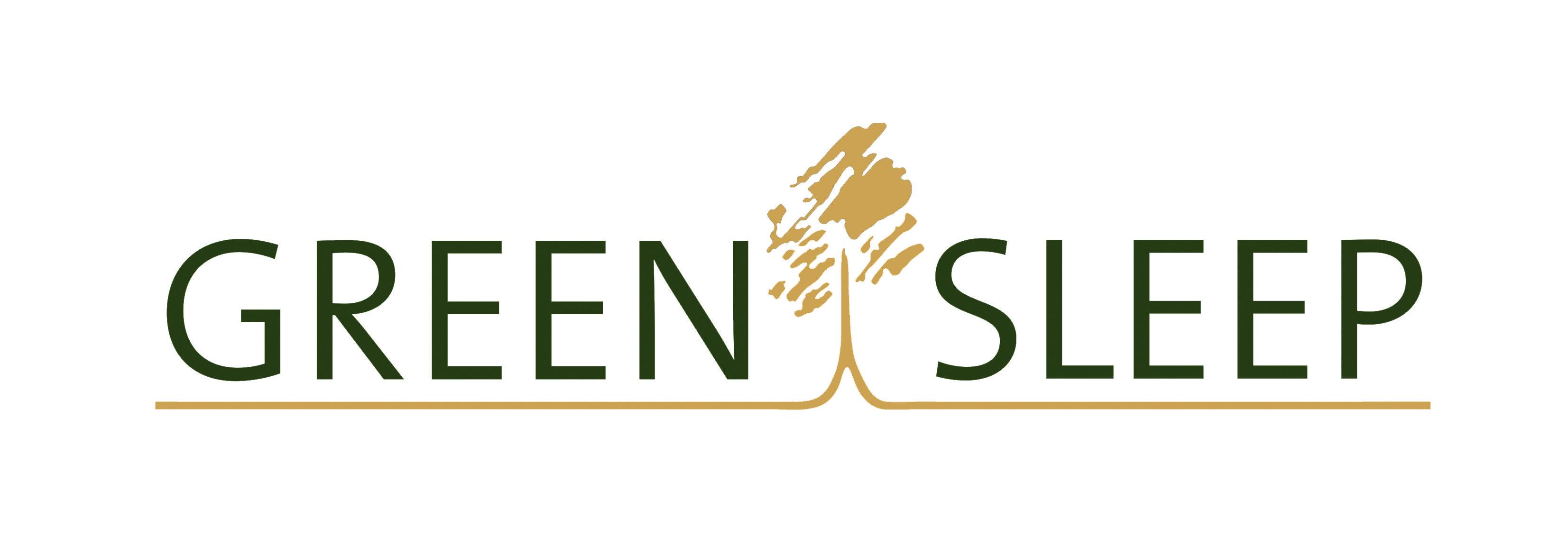 logo greensleep goud